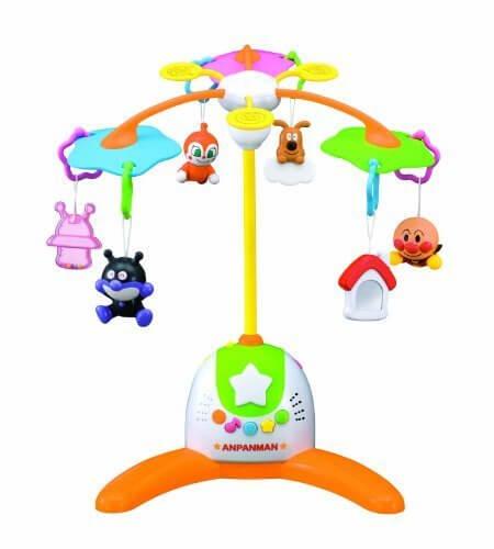 赤ちゃん泣きやませサウンド付き アンパンマンメリー,ベビーベッド,おもちゃ,メリー