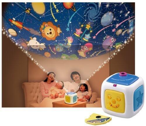 天井いっぱい!! おやすみホームシアター,ベビーベッド,おもちゃ,メリー