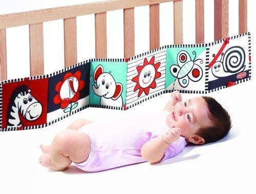 TINY LOVE NEWダブルサイドファーストブック,ベビーベッド,おもちゃ,メリー
