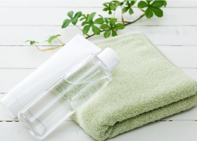 植物と化粧品,