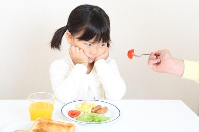 トマトを見つめる子ども,野菜,子ども,