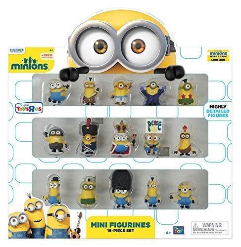ミニオンズ ミニフィギュア 15ピースセット 怪盗グルー Minions Movie Mini Figurines 15 Piece Set,ミニオン,DVD,
