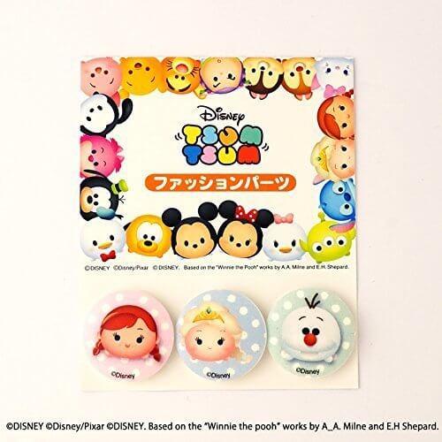 パイオニア ボタン ディズニー ツムツム オラフ アナ エルサ MY3801-MY379,幼稚園,帽子,