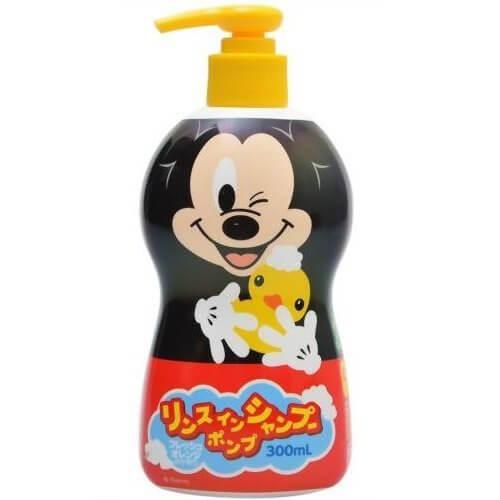 リンスインポンプシャンプーミッキーマウス 300ml,子ども,シャンプー,