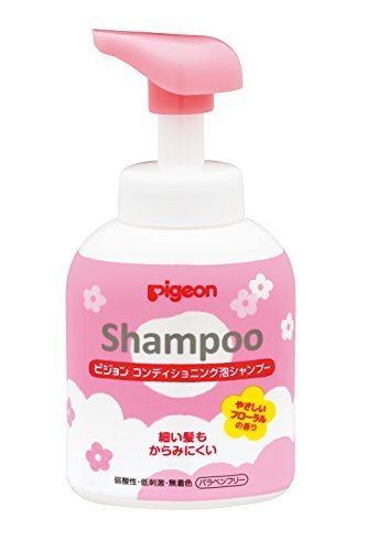 ピジョン コンディショニング 泡シャンプー やさしいフローラルの香り 350ml,子ども,シャンプー,