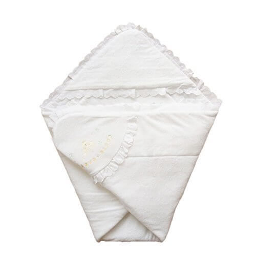 日本製 ふかふかパイル地 クマさん刺繍入りベビーアフガン おくるみ 年中OK素材,おくるみとは,