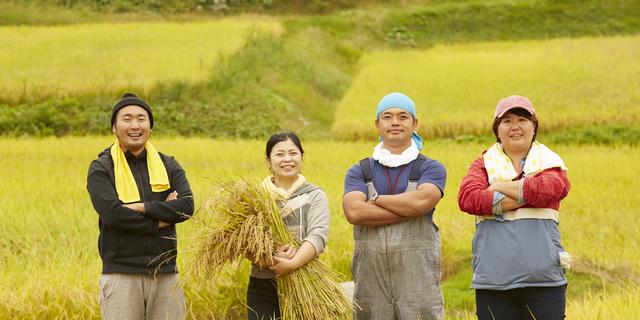 稲を持つ人たち,ふるさと納税,