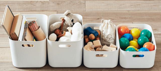 ポリプロピレン収納,おもちゃ,収納,