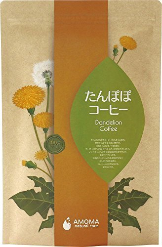 AMOMA たんぽぽコーヒー 2.5g×30ティーバッグ ■無農薬・国内焙煎ノンカフェインコーヒー,デカフェ,おすすめ,