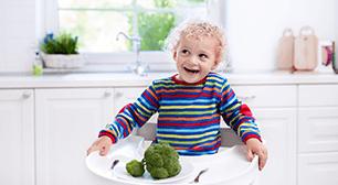 2歳児のママからの相談:「緑色の野菜だけを食べなくなってしまいました」,