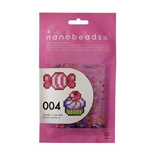 ナノビーズ 004 キャンディ/カップケーキ 80-63003,ナノビーズ,