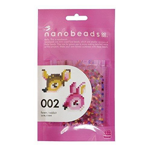 ナノビーズ 002 コジカ/ウサギ 80-63001,ナノビーズ,