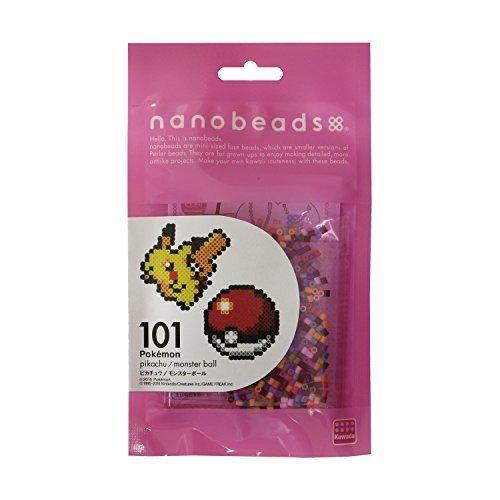 ナノビーズ 101 ピカチュウ/モンスターボール 80-63006,ナノビーズ,