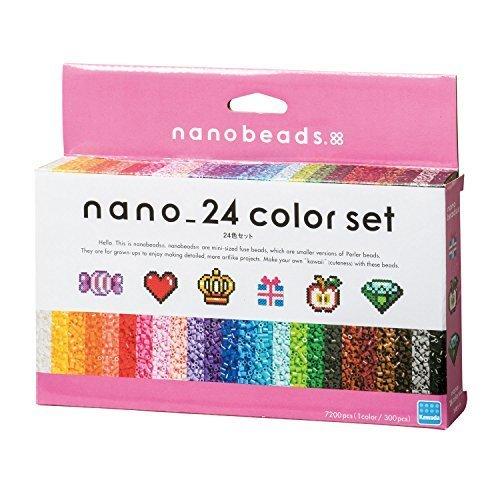 ナノビーズ ナノビーズ 24色セット 80-63044,ナノビーズ,