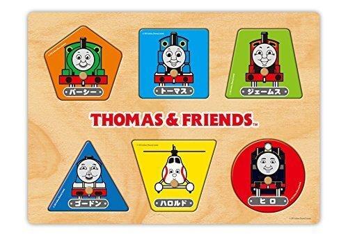 トーマス木製パズル かたちであそぼう! TWT-001,トーマス,絵本,グッズ