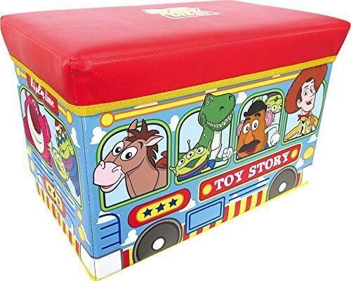 ティーズ ディズニー ストレージBOX トイ・ストーリーバス DN-5519209TO,ディズニー,絵本,グッズ