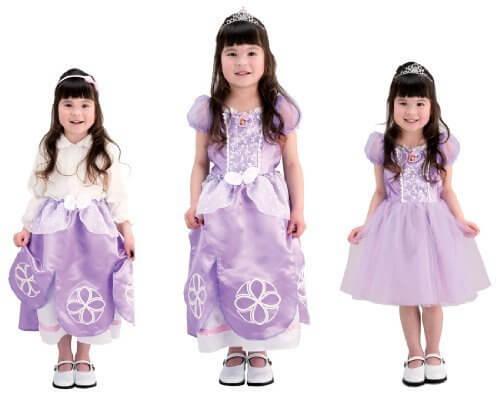 ディズニー ちいさなプリンセスソフィア かわいい3WAYドレス 100cm-110cm,ディズニー,絵本,グッズ