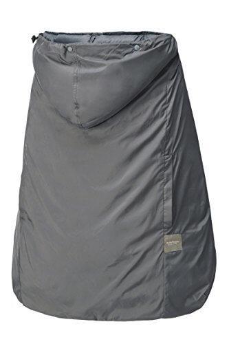 ベビーホッパー(BABYHOPPER) ダウン90% 抱っこひも 防寒 カバー レインカバー オールウェザーダウンカバー/グレー 3Way 通年使える ベビーカーでも使える CKBH05301,抱っこ紐,雨,