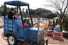 ピギーさんのとことこトラクター,東武動物公園,遊園地,