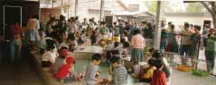 動物とふれあう子供たち,千葉市動物公園,ライオン,