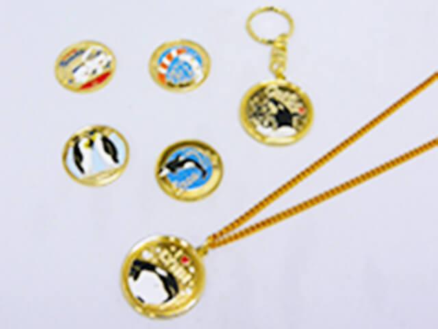 記念刻印メダル,名古屋港水族館,イルカ,