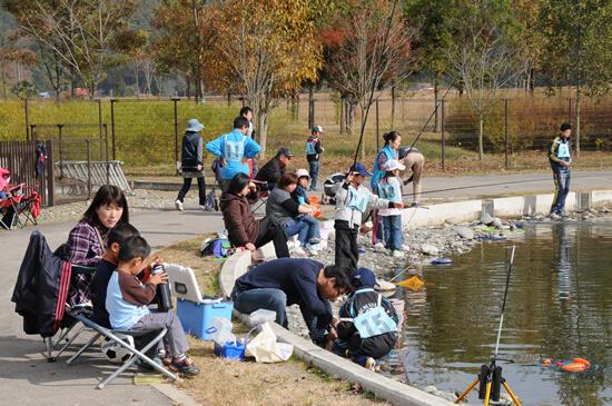 釣り池,栃木県,なかがわ,水遊園