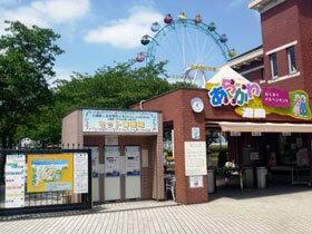 あらかわ遊園のメインゲート,遊園地,東京,
