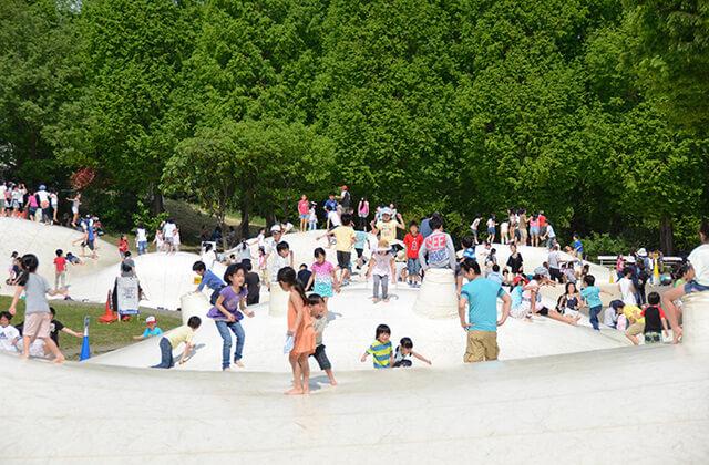 国営昭和記念公園の雲の海,遊園地,東京,
