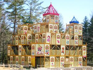 大迷宮アスレチック城,軽井沢,おもちゃ,王国