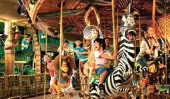 マダガスカルのアトラクション,ユニバーサルスタジオ,シンガポール,子ども