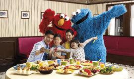 セサミとの朝食,ユニバーサルスタジオ,シンガポール,子ども