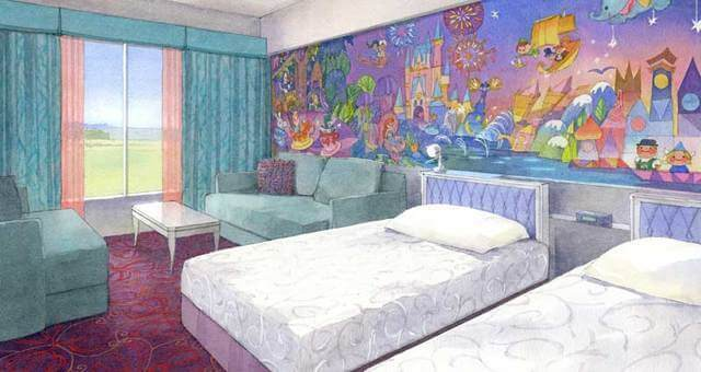 ディズニーセレブリティホテル,ディズニーランド,乳幼児,ホテル