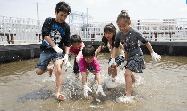 うみファームの食育ゾーン,八景島シーパラダイス,ショー,子ども