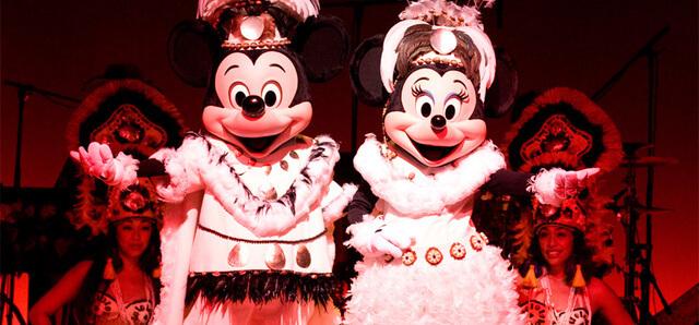 ミッキーのレインボー・ルアウイメージ,ディズニーリゾート,ショー,パレード