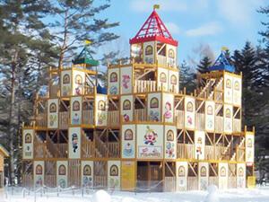 5階建てのお城,軽井沢,おもちゃ王国,天気