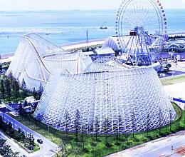 ジェットコースター「ホワイトサイクロン」,三重県,遊園地,