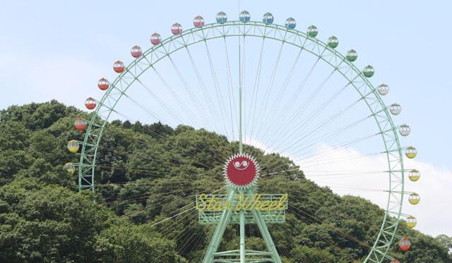 東京サマーランドの観覧車,東京サマーランド,プール,