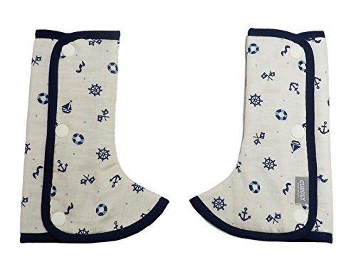 日本エイテックス カドリー 抱っこひものよだれカバー ショルダー&コーナーカバー マリンネイビー 01-105,だっこ紐,よだれカバー,人気