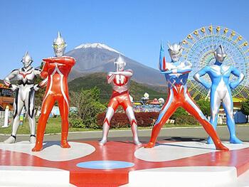 富士山2合目のゆうえんち「ぐりんぱ」のウルトラマン,遊園地,ぐりんぱ,