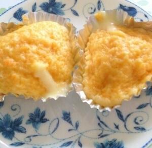 離乳食完了期☆野菜とチーズの蒸しパン,離乳食,チーズ,