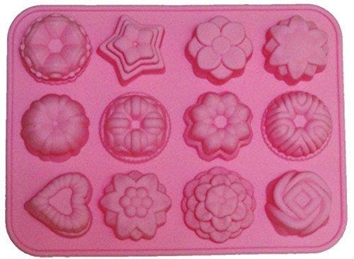 シリコン型 フラワー レジン キャンドル 手作り石鹸に (ピンク),手作り,石鹸,
