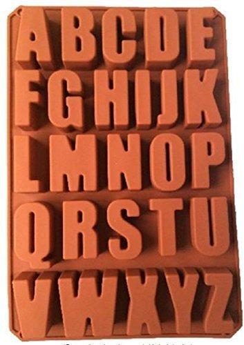 ビッグ シリコンモールド 立体 アルファベット 型 手作り 石鹸 や キャンドル に (特大 英 大文字 のみ),手作り,石鹸,