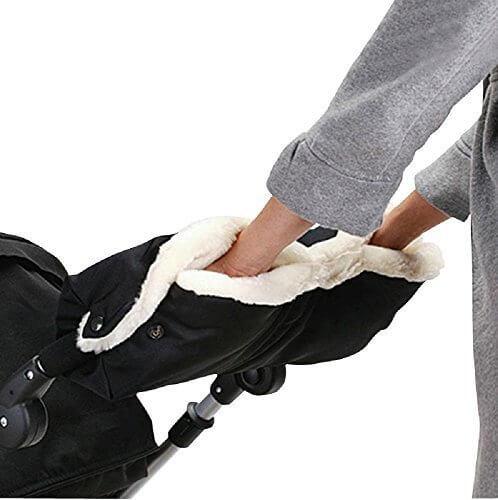 【Nexeed】羊毛 ベビーカー ハンドマフ ベビーカー 手袋,ベビーカー,防寒,