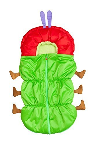日本育児 nihonikuji フットマフ はらぺこあおむしベビーカー用フットマフ 横約45×縦93cm 6380008001 4歳頃まで対象 着ぐるみみたいなフットマフ,ベビーカー,フットマフ,