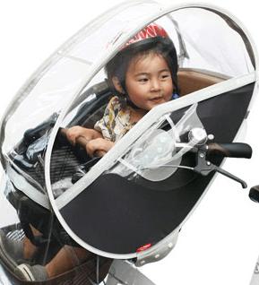 リトルキディーズレインカバー,子乗せ自転車,雨,カバー