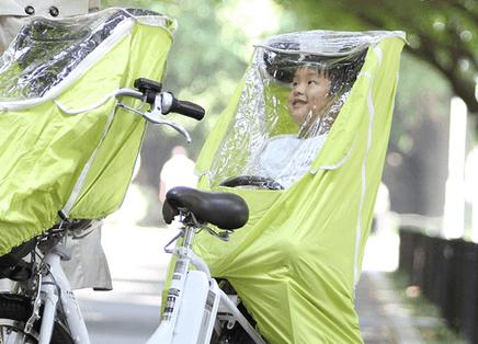 レイコム後ろ用レインカバー,子乗せ自転車,雨,カバー