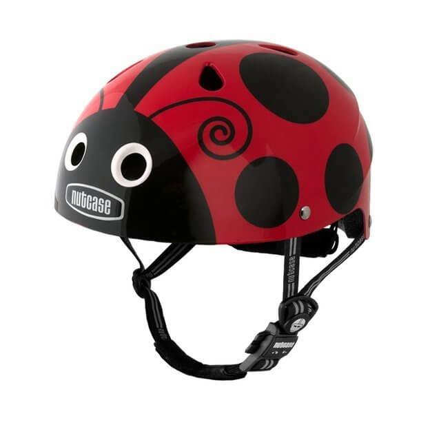 Nutcase(ナットケース) Little Nutty / 幼児・子供用ヘルメット Ladybug,子ども,自転車用ヘルメット,人気