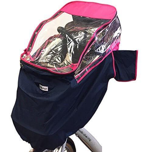 ハローエンジェルチャイルドシート付き自転車用レインカバー ,自転車,子ども,防寒