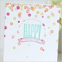 誕生日カード 一例,手作り,カード,