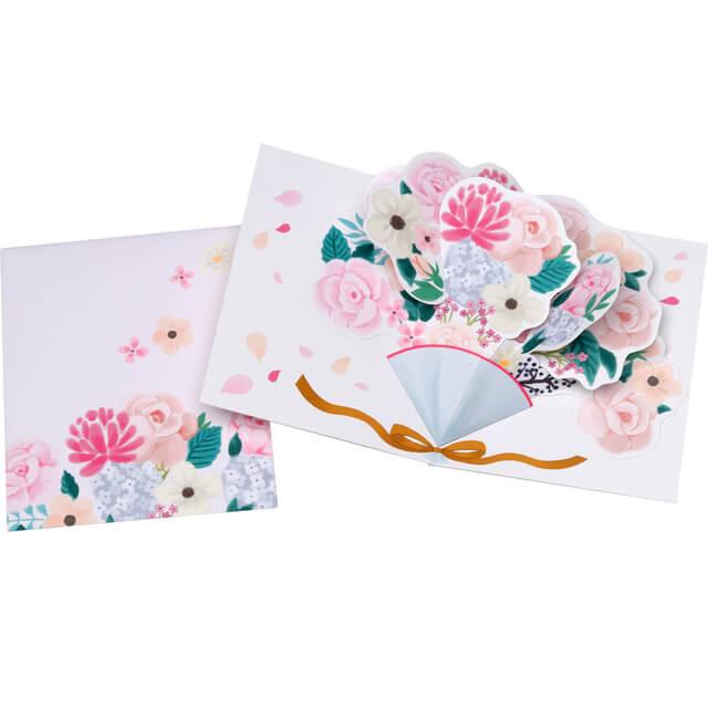 ポップアップカード 一例,手作り,カード,